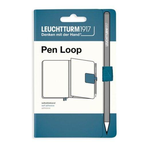 pen loop stone blue