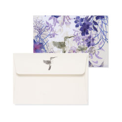 Peter Pauper Note Cards Hummingbird 1