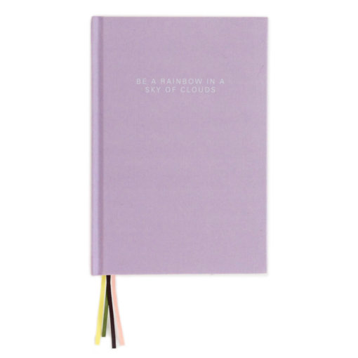 Caroline Gardner Notitieboek - Lilac Multi Ribbon