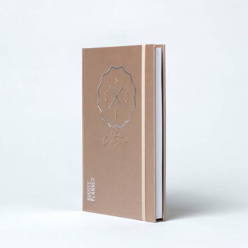 SuccesPlanner notitieboek Champagne