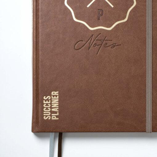 SuccesPlanner notitieboek Chocolade
