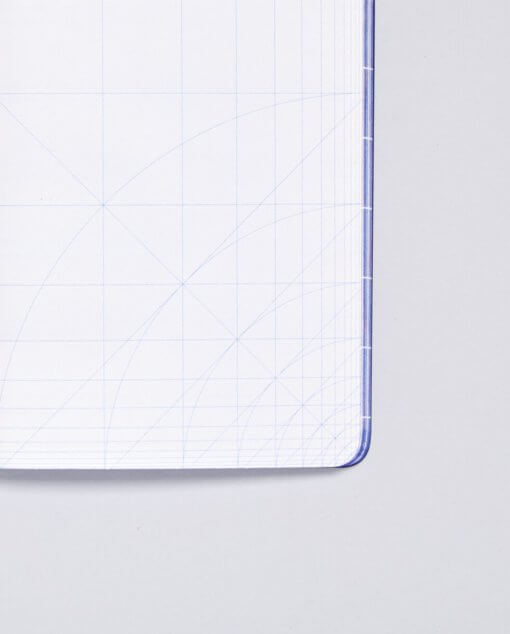 Nuuna notitieboek Break The Grid - Blauw 2