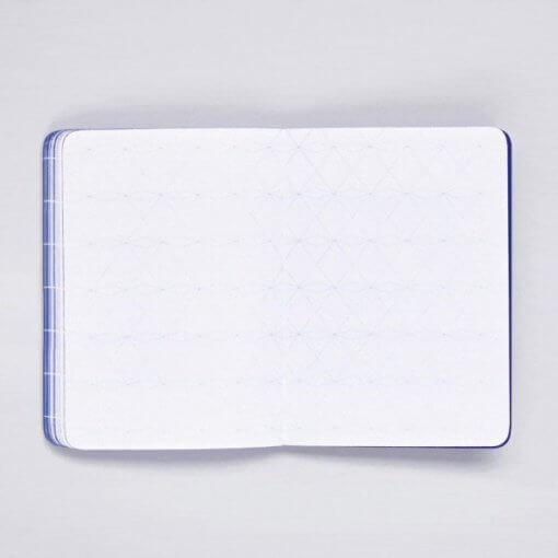 Nuuna notitieboek Break The Grid - Blauw 3