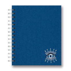 Studio oh Spiraal Embroidered Evil Eye