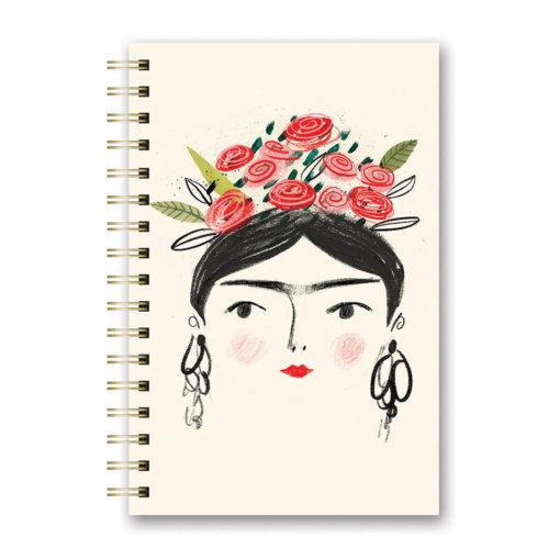 Notitieboek spiraal Woman with Crown