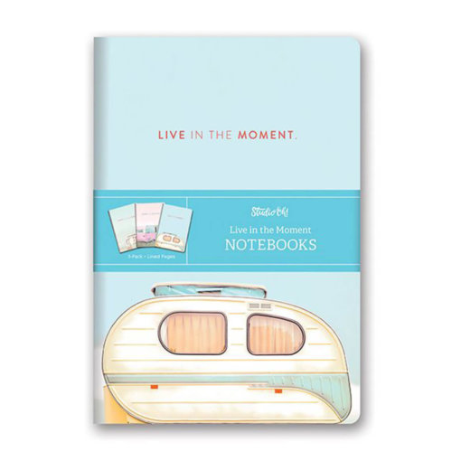 Studio Oh! - Notebook trios - Living in the moment
