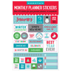 Peter Pauper Monthly Planner Stickers
