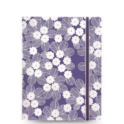 Filofax notitieboek impressions Paars & Wit