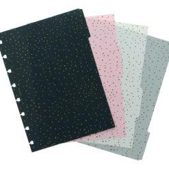 Filofax Tabbladen Notitieboek Confetti A5