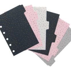 Filofax Organizer Confetti Tabbladen Pocket