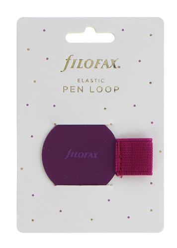 Filofax Elastic Pen Loop Mauve