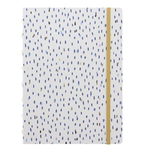 Filofax notitieboek A5 Indigo Rain