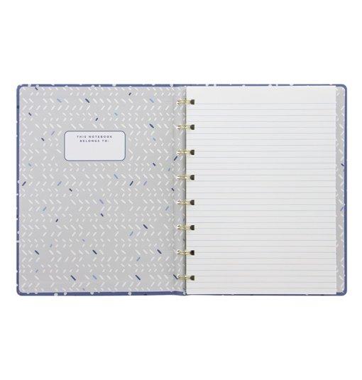 Filofax notitieboek A5 Indigo Snow 3