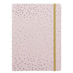 Filofax notitieboek A5 Confetti Rose Quartz