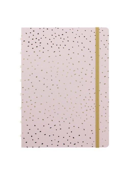 Filofax notitieboek A5 Confetti Rose Quartz