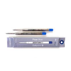 Navulling voor drehgriffel balpen: Nr 1 blauw set van 2