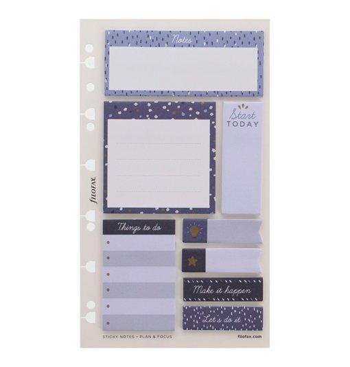 Filofax Indigo Sticky Notes