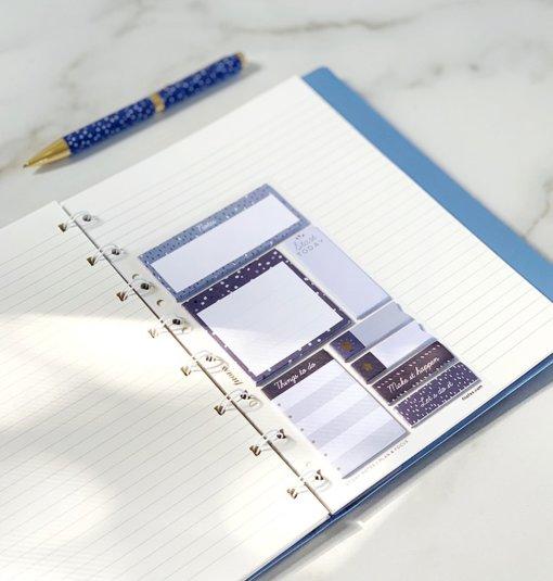 Filofax Indigo Sticky Notes 4