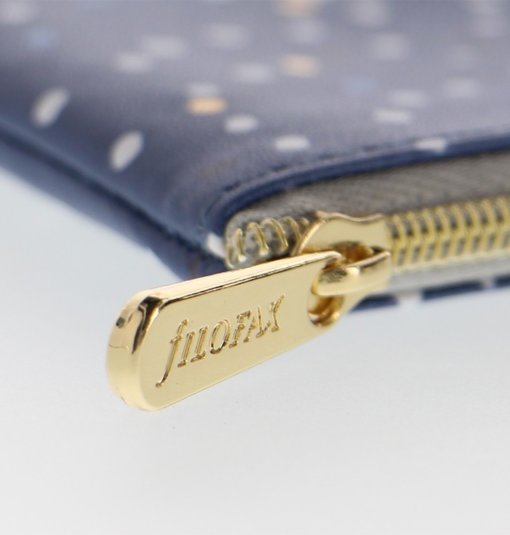 Filofax Indigo Zipper Pouch 2