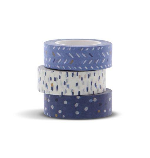 Filofax Indigo Washi Tape Set