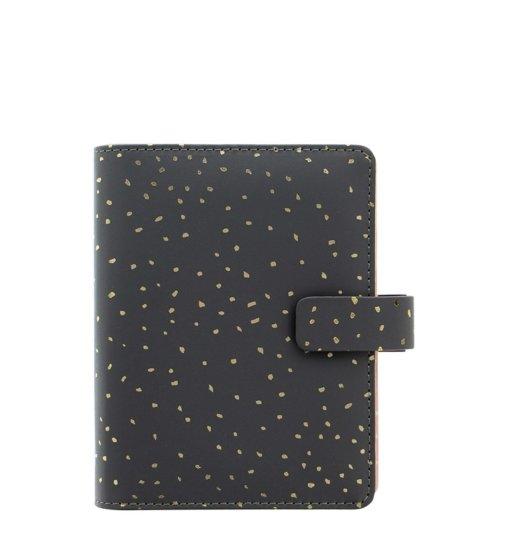 Filofax organizer Confetti Charcoal Pocket