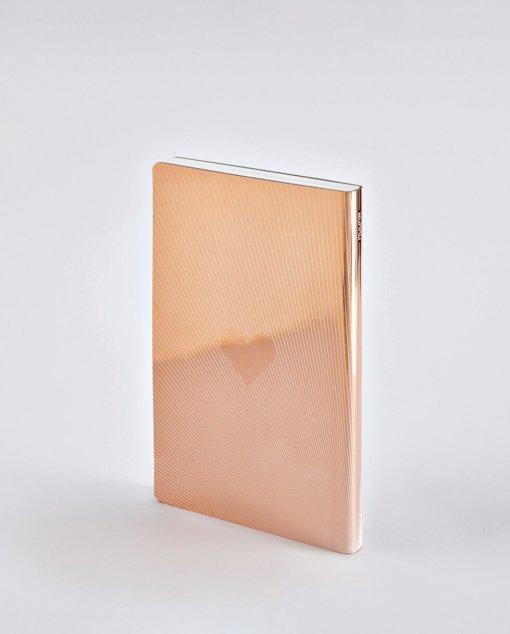 Nuuna notitieboek Metallic I Am With You