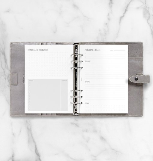 Filofax navulling organizer A5 Projects & Goals Tracker 2