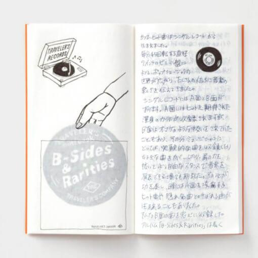 Midori Traveler's Notebook navulling Super Lightweight Paper 2