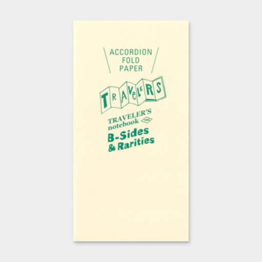 Midori Traveler's Notebook navulling Accordion Fold Paper