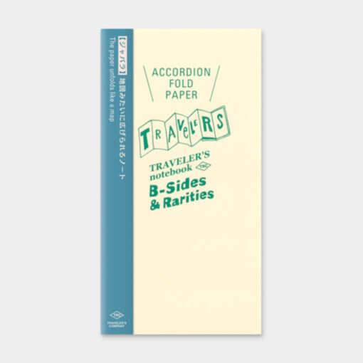 Midori Traveler's Notebook navulling Accordion Fold Paper 1