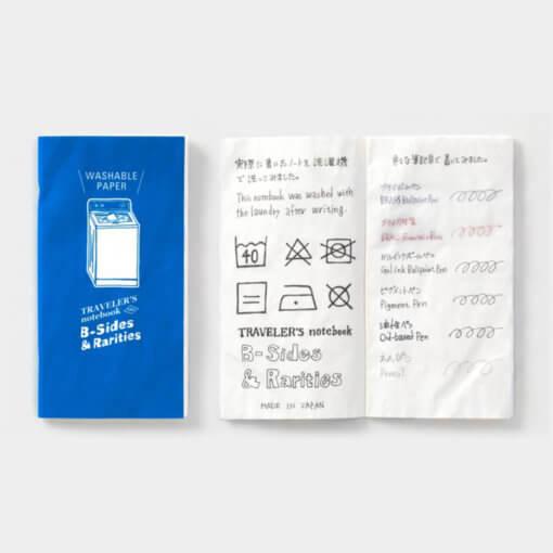 Midori Traveler's Notebook navulling Washable Paper 2