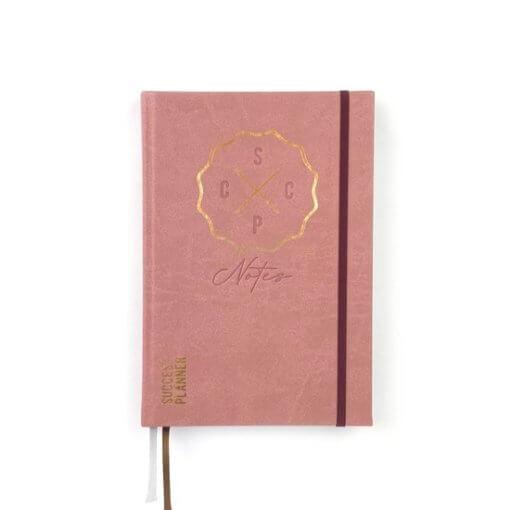 SuccesPlanner notitieboek Oudroze