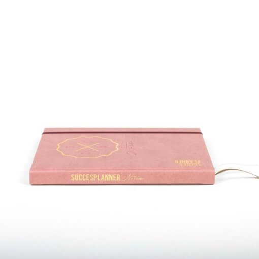 SuccesPlanner notitieboek Oudroze 2