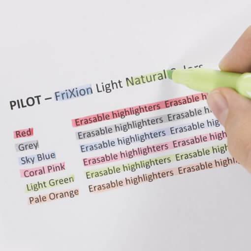 Pilot FriXion Light Natural Colors 1