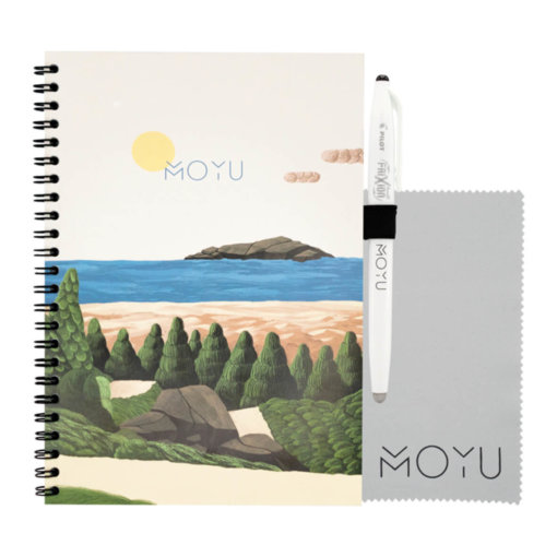 MOYU ringband notitieboek A5 Bright Beach