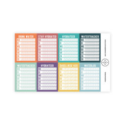 SuccesPlanner Watertracker Stickerset
