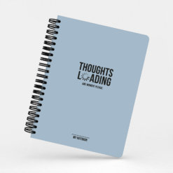 Studio Stationery Notebook - Thoughts Loading