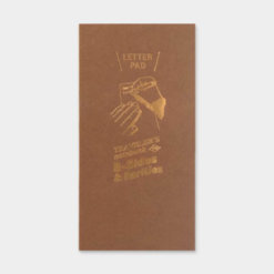 Midori Traveler's Notebook navulling Letter Pad