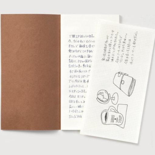 Midori Traveler's Notebook navulling Letter Pad 1