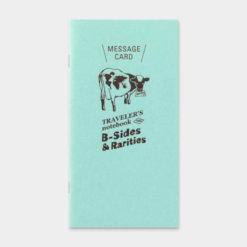 Midori Traveler's Notebook navulling Message Card