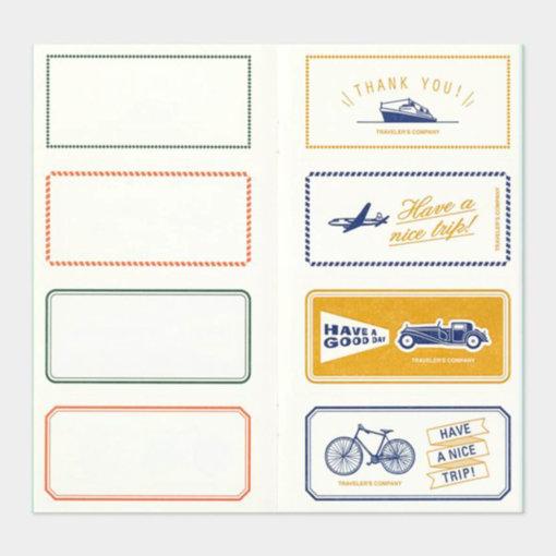 Midori Traveler's Notebook navulling Message Card 4