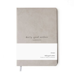 Daily Goal Setter planner grijs