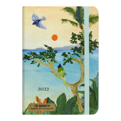 Peter Pauper Agenda 2022 Tropical Paradise