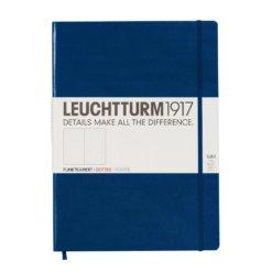 Leuchtturm1917 A4+ notitieboek Master Slim Navy Blue