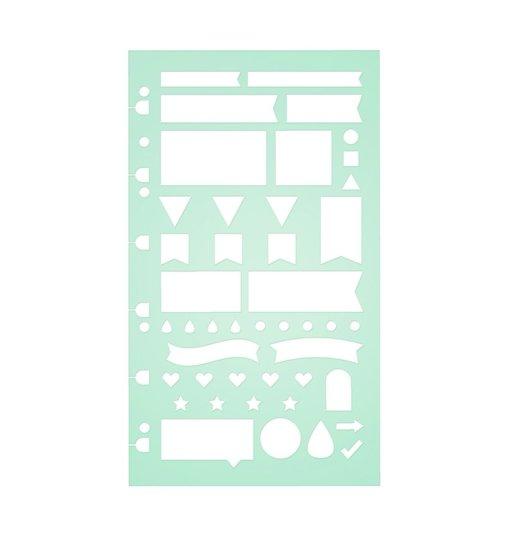 Filofax Planning Stencil
