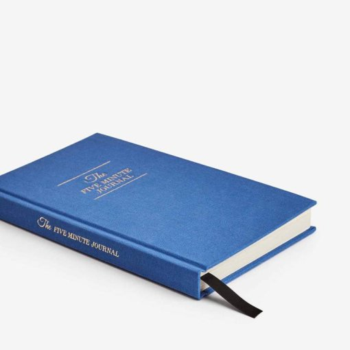 The Five Minute Journal Royal Blue 1