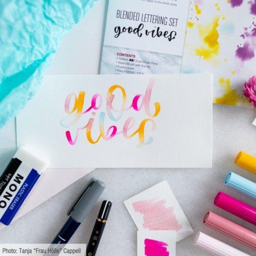 Tombow Blended Lettering Set - Good Vibes