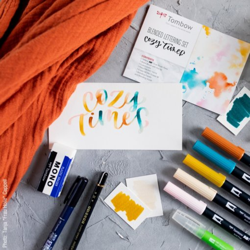 Tombow Blended Lettering Set - Cozy Times 1