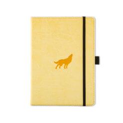 Dingbats notitieboek Wildlife Cream Wolf