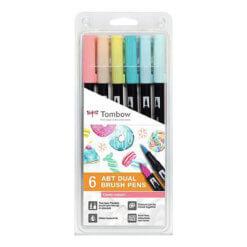 Tombow ABT set van 6 Candy Colors